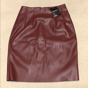 Forever 21 Pencil Skirt XS NWT